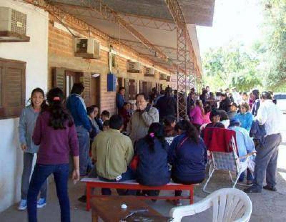 Profesionales de la federación Argentina de Cardiología asistieron a pobladores del interior