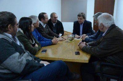 Pulti se reunió con representantes del sector de la construcción