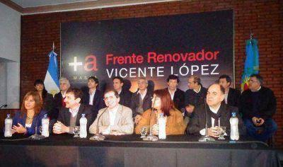 Presentaron el bloque de ediles del Frente Renovador en Vicente López