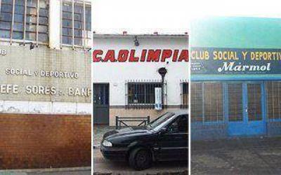 Una nueva esperanza para los clubes de barrio de la Región
