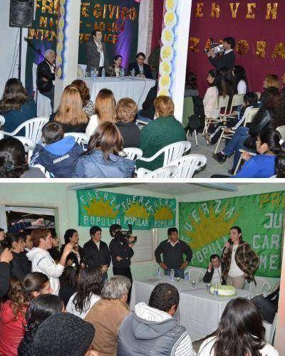 Continúan los apoyos a la fórmula del Frente Cívico en La Banda
