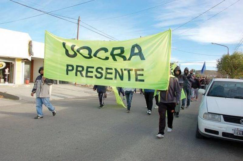 Obreros mineros de UOCRA en alerta y movilización