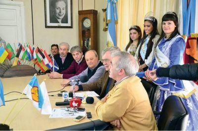 Presentaron las actividades de la XXVII Feria de las Colectividades Extranjeras