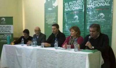 Coronel Dorrego: Primer encuentro del Movimiento San Martín