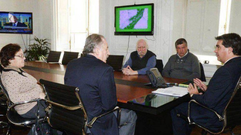 Capitanich prometió dar una respuesta sobre el pedido de cambios en Ganancias a la CTA oficialista