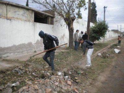 La Municipalidad de La Banda anunció ampliación y limpieza en perímetro de la necrópolis