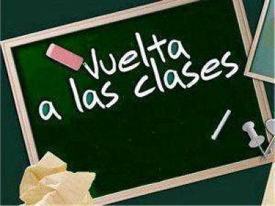 Tras el receso invernal: En Jujuy el lunes comienzan las clases normalmente en todos los niveles