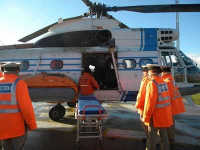 Prefectura evacuó al tripulante de un pesquero en Mar Del Plata