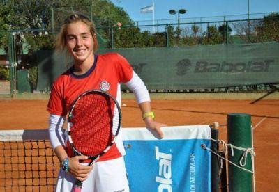 La joven tenista del Club Náutico, Paula Barañano, jugará en Londres
