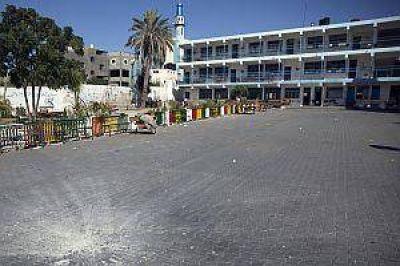 Nuevo bombardeo sobre una escuela de la ONU en Gaza