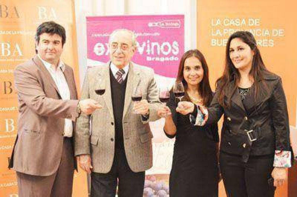 Presentación oficial de ExpoVinos en la Casa de la Provincia
