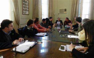 La Comisión de Comercio pidió fondos a Fascendini