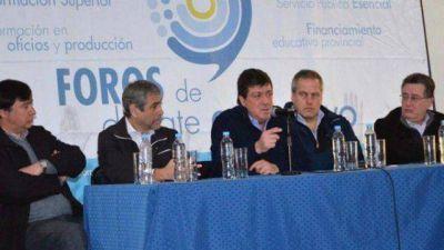 Amplio respaldo a la reforma educativa que se debate en la provincia de Buenos Aires