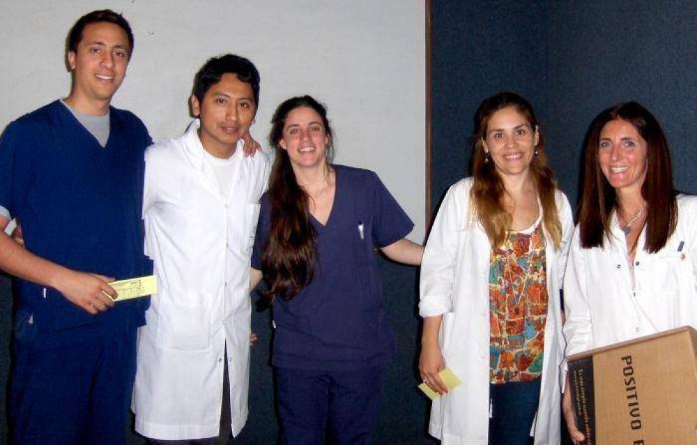 Médicos del HIGA fueron distinguidos por una investigación sobre nódulos de tiroides