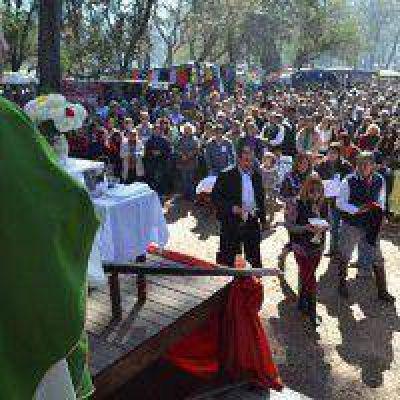 Una multitud participó de la ultima jornada de la 19° Cabalgata de la Fe