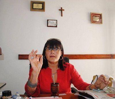 Laura Delpir asumió por un nuevo período al frente de Sanidad