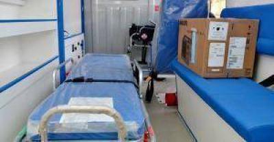 Hay 10 ambulancias 0 km para cambiar las antiguas