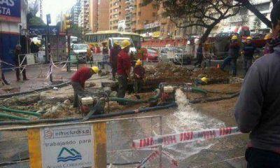 Desde el viernes, el agua sube 11,77% en C�rdoba Capital