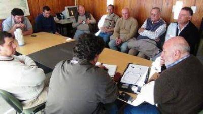 Ferrán con Federación Agraria La Pampa