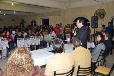 La fórmula del Frente Cívico en La Banda sigue sumando apoyo de los distintos sectores políticos