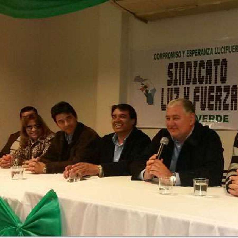 Elecciones en Luz y Fuerza: La lista verde hizo el cierre de campaña