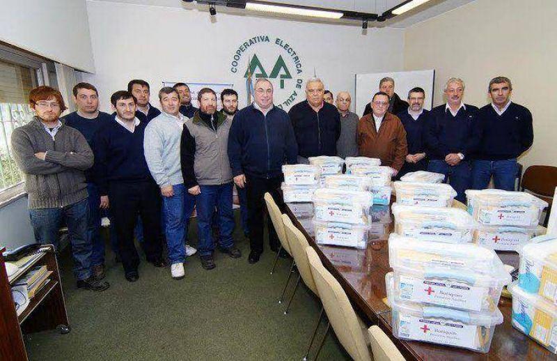 El Sindicato y la Mutual de Luz y Fuerza hicieron una importante donación a la CEAL