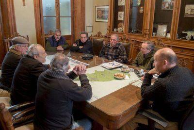 Los vecinos autoconvocados por las inundaciones destacaron las obras h�dricas de la Gesti�n Inza