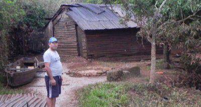 Definen terreno para construir las casas de los inundados
