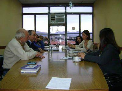 Autoridades Nacionales de Derechos Humanos visitan Cámara de Diputados