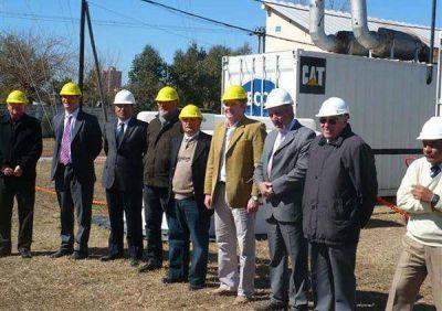 Energía – presentaron equipos para reforzar la generación