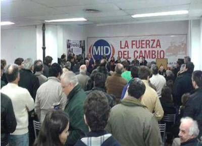 El MID rechazó una alianza con el Frente Renovador