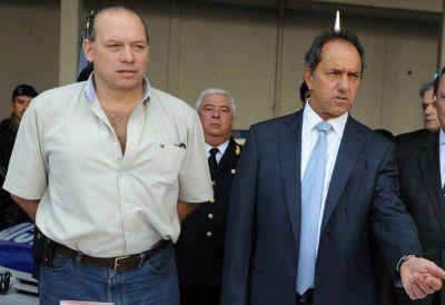Berni y Scioli dieron más detalles sobre el padre de Tévez