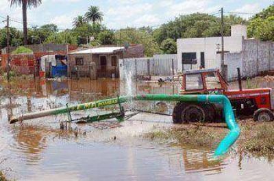 La Provincia firmará mañana los convenios para iniciar obras hidráulicas en distintos barrios