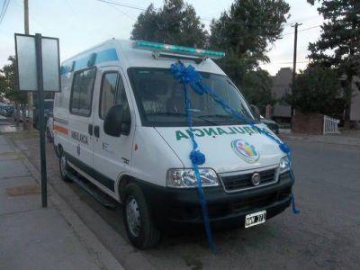 �Fiambal� tiene la segunda ambulancia en menos de un a�o�