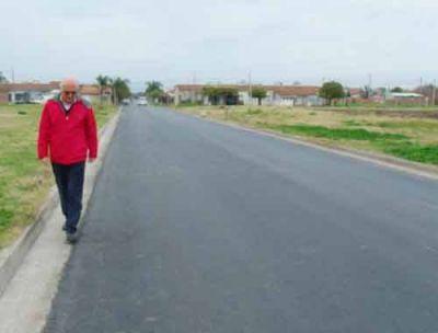 """Lo afirma el municipio local: """"Garantizamos los controles y la calidad del pavimento"""""""