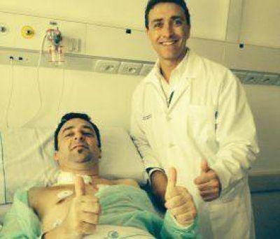 D�cimo trasplante card�aco en el Hospital Regional El Cruce