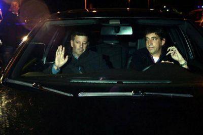Daniel Scioli, Marcelo Tinelli y los dirigentes del fútbol, los primeros en darle el último adiós a Julio Grondona
