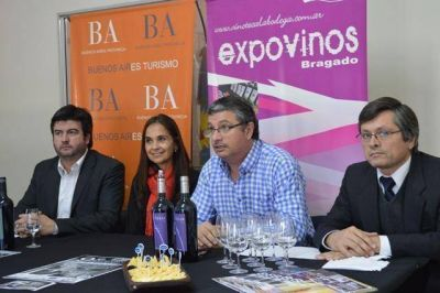 Expovinos Bragado se presentó en la ciudad de Mar del Plata.