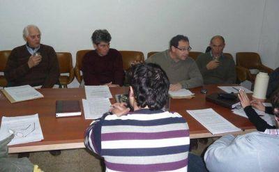 Concejales se reunieron por el proyecto de Agroquímicos
