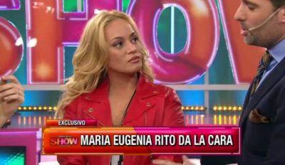 """María Eugenia Ritó: """"Tuve una recaída"""""""