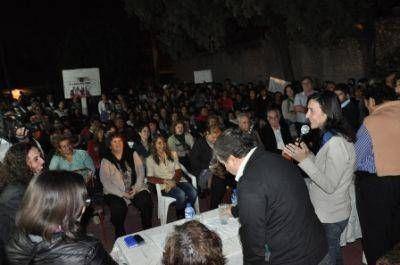 Intensa agenda de la fórmula Nassif- Adamo en La Banda