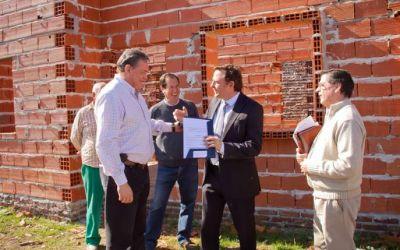 Construyen viviendas en Gualeguay
