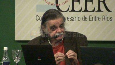 Horacio González disertará sobre peronismo este viernes en Paraná