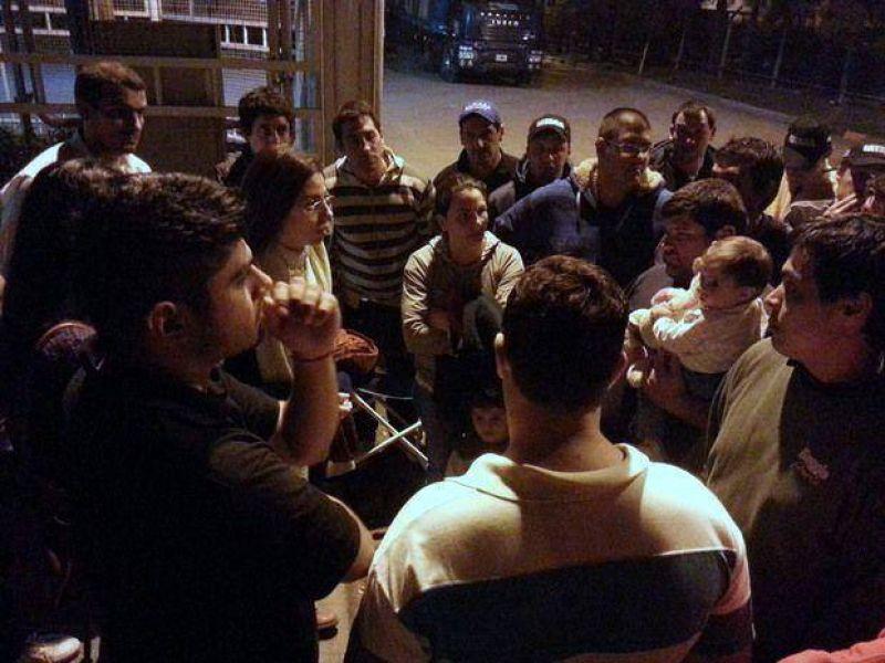 Tensión en la planta de Baggio por los trabajadores despedidos