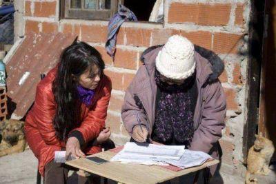 El Ministerio de Economía relevará 13.800 viviendas en la Provincia.