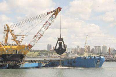 Llega hoy una nueva draga para devolverle profundidad al puerto