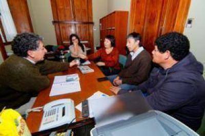 Dirigentes del SOEMPA mantuvieron una reunión con el nuevo Secretario de Gobierno