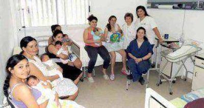 La Semana de la Lactancia materna: Actividades y promoción en ciudad
