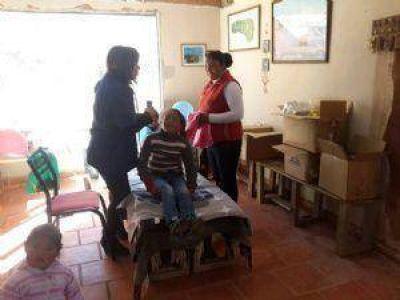El APRa brindó asistencia sanitaria a niños de Antofagasta de la Sierra