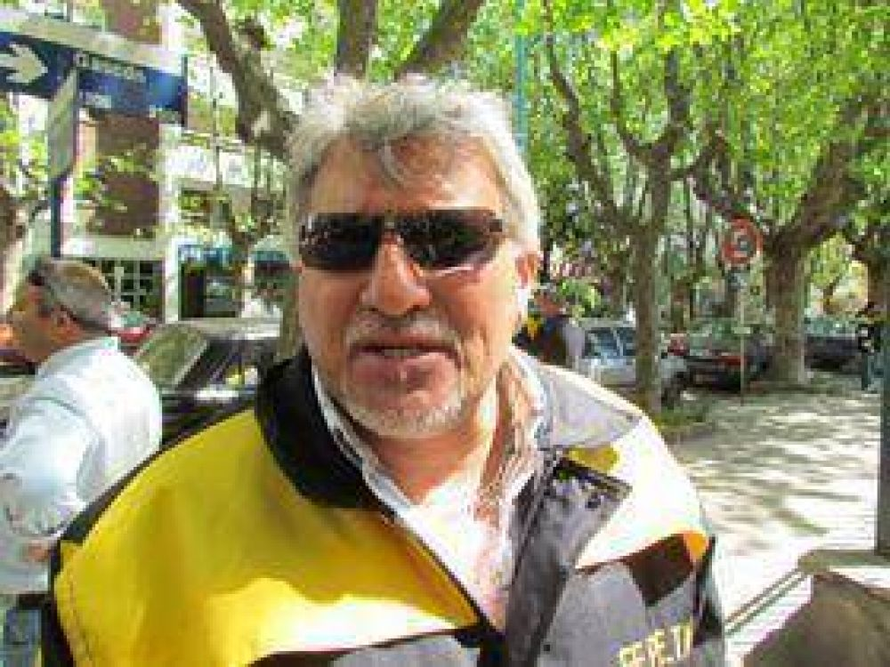 Cirone confirmó que hay paro de taxis por el asesinato de un compañero